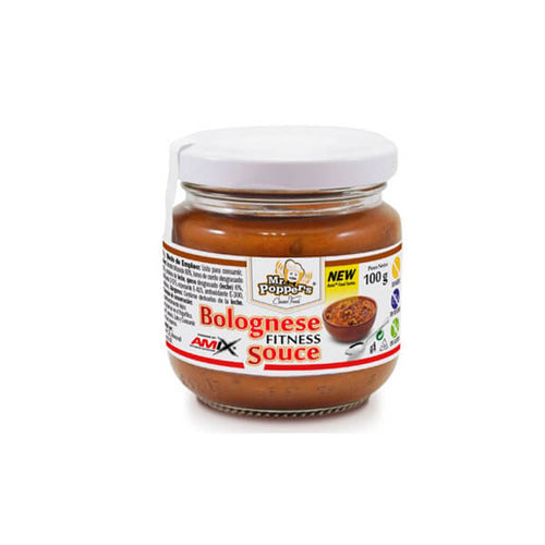 BOLOGNESE FITNESS SAUCE 100 GR AMIX - Herbolario El Búho