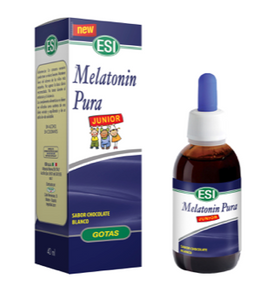 MELATONINA JUNIOR 40ML GOTAS SABOR CHOCOLATE BLANCO0 ESI
