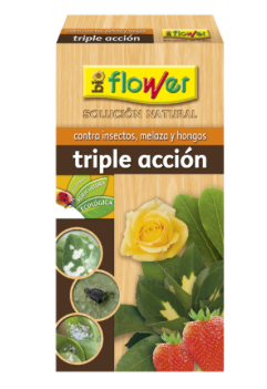 INSECTICIDA TRIPLE ACCIÓN CONCENTRADO 1000ml BIOFLOWER PAMIESVITAE