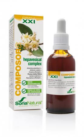 COMPOSOR 3 HEPAVESICAL COMPLEX 50ML SIGLO XXI SORIA NATURAL
