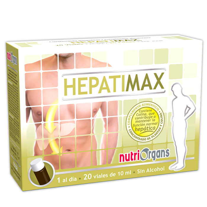 HEPATIMAX 20 VIALES 10ML NUTRIORGANS TONGIL
