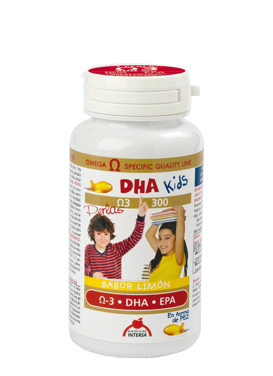 DHA KIDS 90 PERLAS DIETETICOS INTERSA