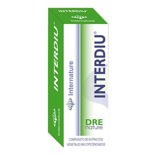 INTERDIU 30ML DRENATURE INTERNATURE - Herbolario El Búho
