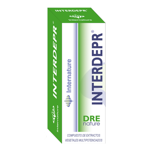 INTERDEPR 30ML DRENATURE INTERNATURE - Herbolario El Búho