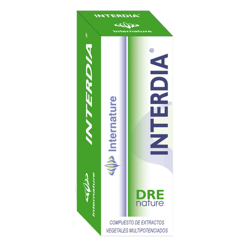 INTERDIA 30ML DRENATURE INTERNATURE - Herbolario El Búho