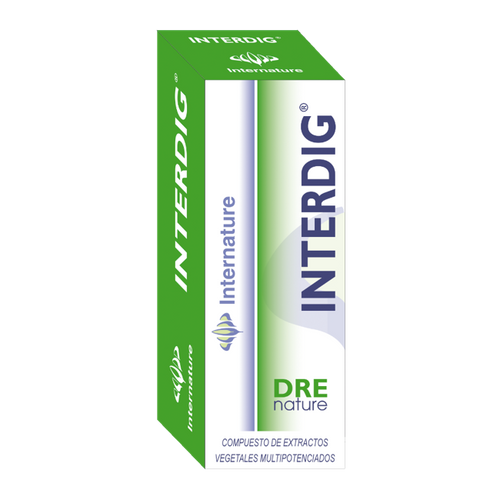 INTERDIG 30ML DRENATURE INTERNATURE - Herbolario El Búho
