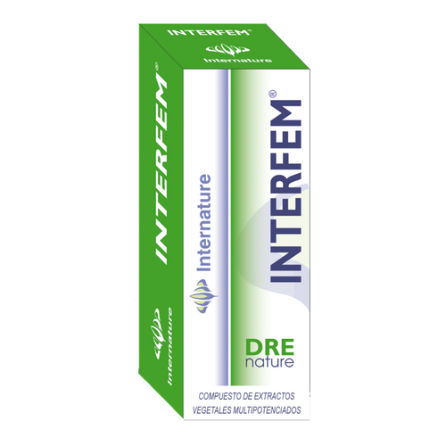 INTERFEM 30ML DRENATURE INTERNATURE - Herbolario El Búho