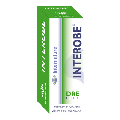 INTEROBE 30ML DRENATURE INTERNATURE - Herbolario El Búho