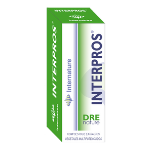 INTERPROS 30ML DRENATURE INTERNATURE - Herbolario El Búho