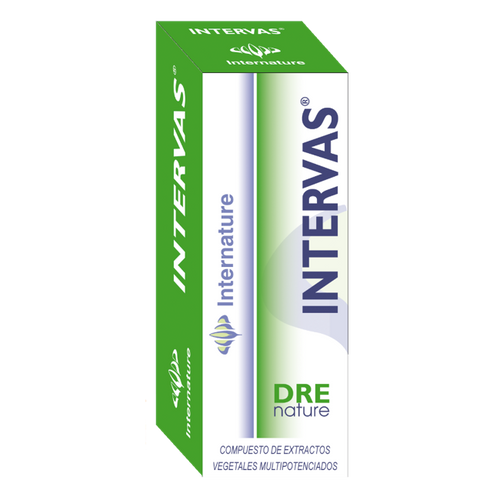 INTERVAS 30ML DRENATURE INTERNATURE - Herbolario El Búho