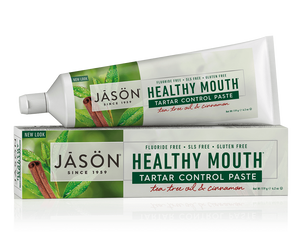 DENTIFRICO HEALTHY MOUTH ANTIPLACA JASON - Herbolario El Búho