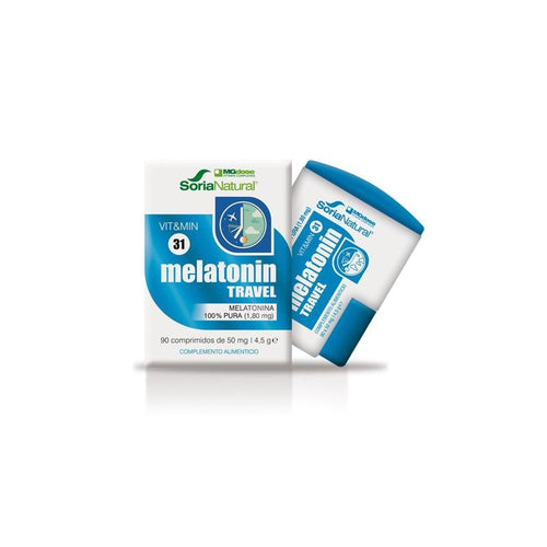 Comprar MELATONINA TRAVEL 90 COMPRIMIDOS SORIA NATURAL