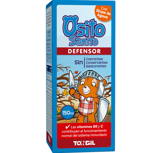 Comprar JARABE OSITO SANITO DEFENSOR 150 ML TONGIL