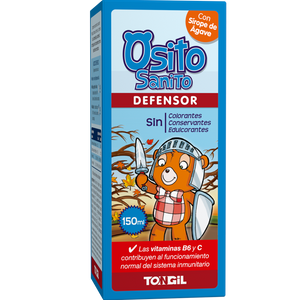 JARABE OSITO SANITO DEFENSOR 150 ML TONGIL - Herbolario El Búho