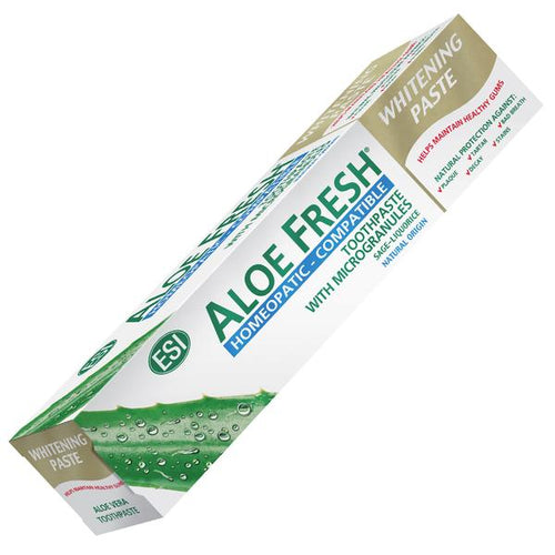 PASTA DENTAL BLANQUEADORA ALOE FRESH (COMPATIBLE HOMEOPATIA) ESI