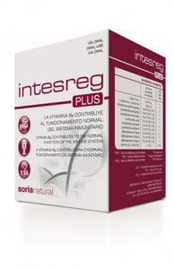 INTESREG PLUS 14 SOBRES SORIA NATURAL