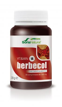 BERBECOL 30 COMPRIMIDOS MG DOSE SORIA NATURAL