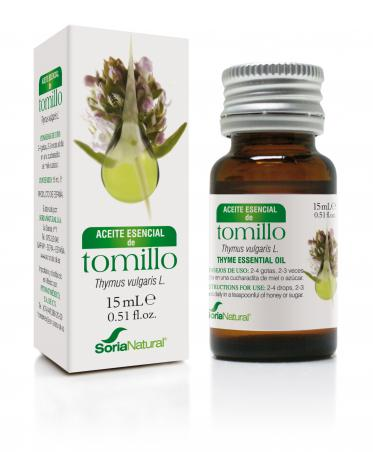 ACEITE ESENCIAL TOMILLO 15ML SORIA NATURAL
