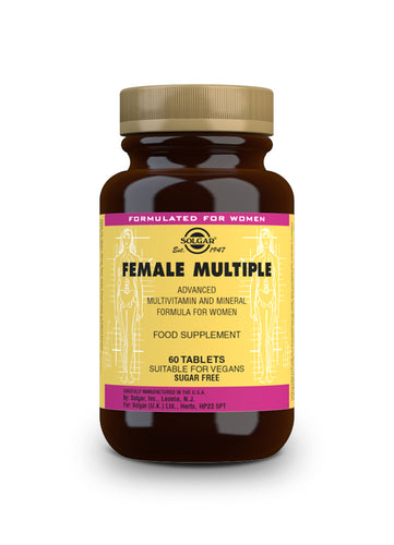 FEMALE MULTIPLE 60 CÁPSULAS SUPLEMENTOS SOLGAR