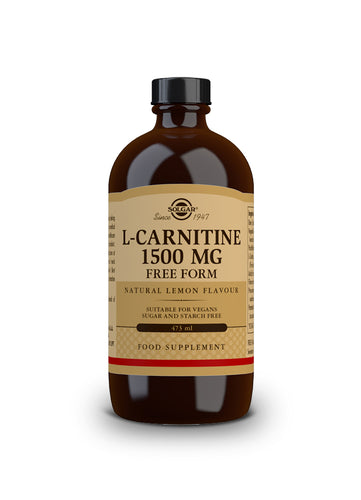 L-CARNITINA LIQUIDA 1500MG 473ML SOLGAR