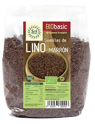 SEMILLAS DE LINO MARRON BIO 500G SOL NATURAL