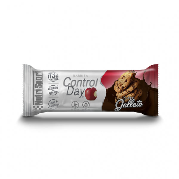 BARRITAS CONTROL DAY SABOR GALLETA NUTRI SPORT