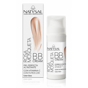 Comprar BB CREAM ROSA MOSQUETA 30ML COLOR CLARO NATYSAL