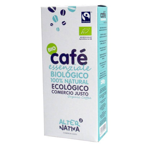 CAFE NATURAL MOLIDO ESSENZIALE ECO 250GR ALTER NATIVA - Herbolario El Búho