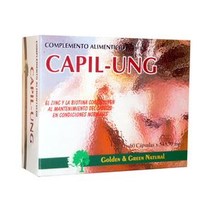 Comprar CAPIL UNG 60 CÁPSULAS GOLDEN GREEN NATURAL