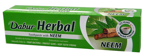 Comprar DENTRIFRICO AL NEEM 100ML AYURVEDA DABUR HERBAL