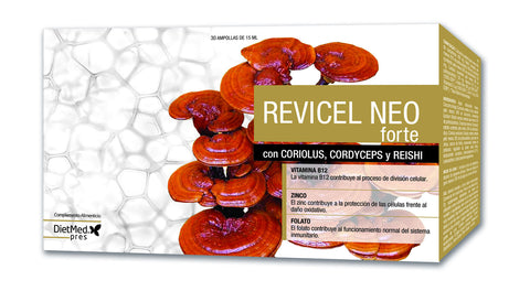 REVICEL NEO FORTE 30 AMPOLLAS DIETMED