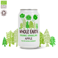 Comprar REFRESCO DE MANZANA SIN AZUCAR BIO 330ML WHOLE EARTH