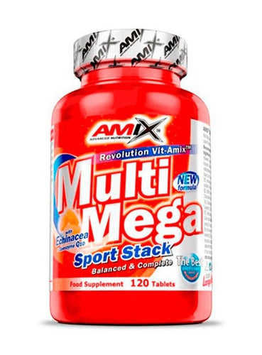 Comprar MULTI MEGA STACK 120 TABLETS AMIX