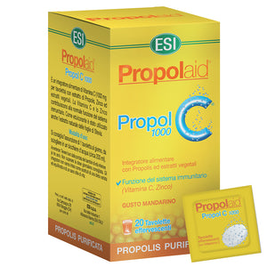 PROPOLAID PROPOL C 1000 MG 20 TABLETAS EFERVESCENTES ESI