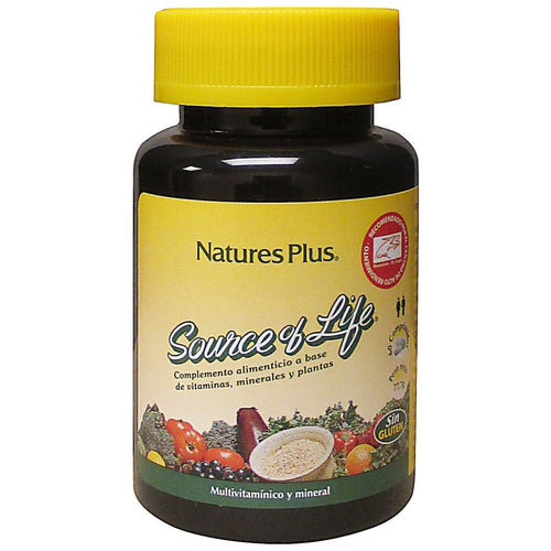 Comprar SOURCE OF LIFE MULTIVITAMÍNICO 60 COMPRIMIDOS NATURESPLUS