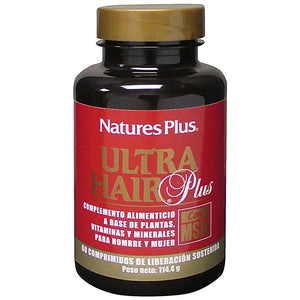 ULTRA HAIR PLUS MSM 60 COMPRIMIDOS NATURES PLUS