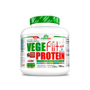 VEGE FIIT PROTEIN 2KG CACAH-CHOCO-CARAMELO GREENDAY AMIX