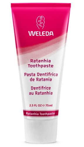PASTA DENTAL RATANIA 75CL WELEDA