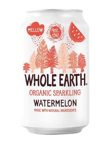REFRESCO DE SANDIA SIN AZUCAR BIO 330ML WHOLE EARTH