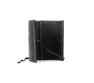 Leather pouch / Tobacco Pouch - Bear Black