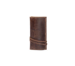 Leather pouch / Tobacco Pouch - Bark Brown