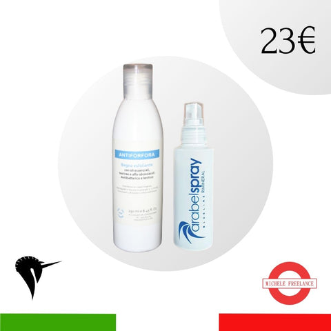 Set natale - Shampoo e Spray volumizzante - Idea regalo per lei
