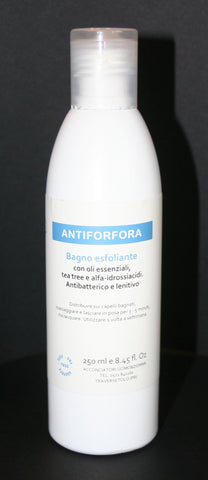 Shampoo exfoliating anti-dandruff