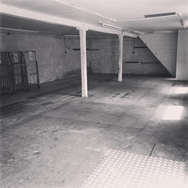 Inside the ground floor of The Old Net Works, Whapload Road, Lowestoft