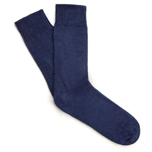 Alpaca Walking Socks, Cushion Sole (Unisex) - blackshore