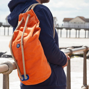 Sailor's Canvas Duffel Bag - blackshore