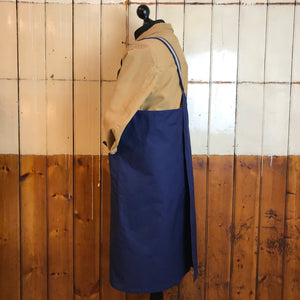 Studio Cross-Over Oilskin Apron, Handmade in Southwold