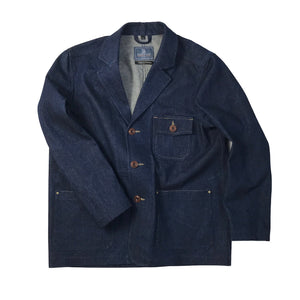 Harbour 14oz Denim Jacket, Handmade in Southwold