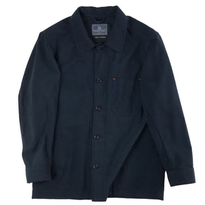 Ebbtide Moleskin Overshirt (two colours), Handmade in Southwold