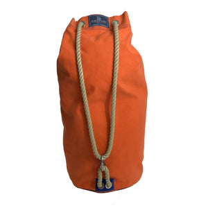 Handmade Canvas Duffle Bag (any colour you like as long as it's orange)